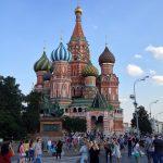 【ロシア旅行記】Day1 (赤の広場で たまねぎ寺院に出会った)