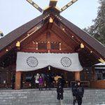 Day4 北海道の神様に挨拶しに行ってみた!