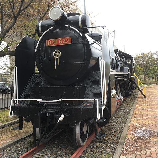 石川県松任駅前のデゴイチ(D51)